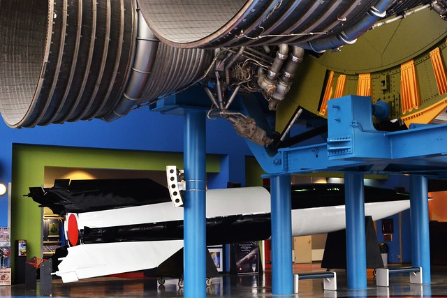 V-2 and Saturn V Engines