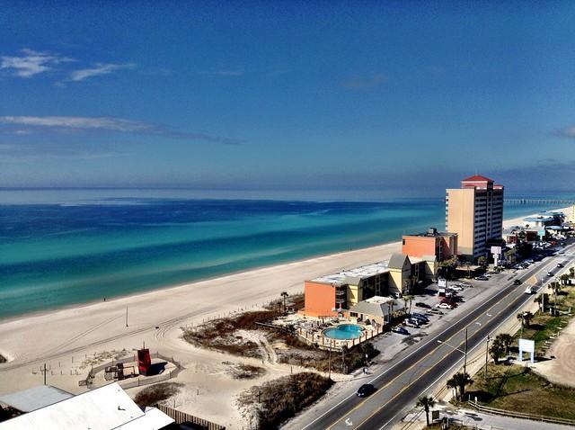 como é morar em Panama City Beach EUA