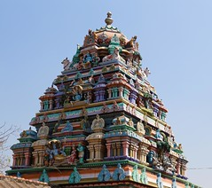 Vimanam of main shrine