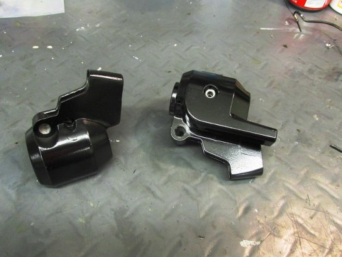 Painted Lever Housings