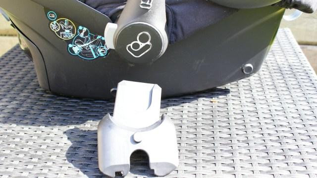 Maxi-Cosi Stella Cabriofix adapters