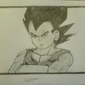 Draw By LG 91 / Vegeta