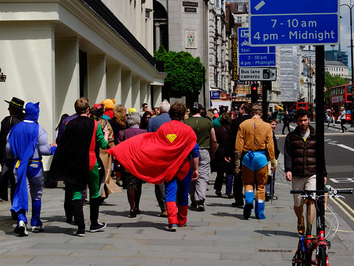 Superhero day out by Simon Sharville