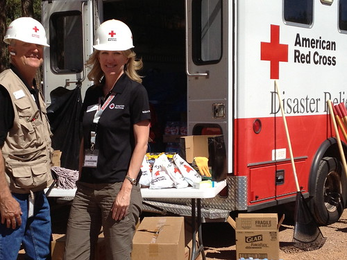Red Cross Public Affairs, BillFortune and Catherine Barde