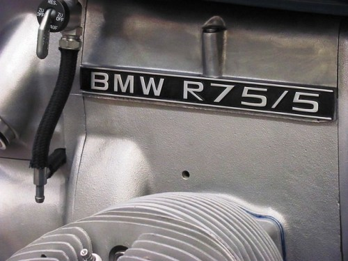 Repainted Engine Badge Installed