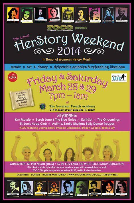 HerStory Weekend 3-28, 3-29-14