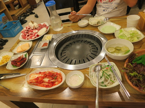 Singapore Lifestyle Blog, Korea, nadnut Korea, Korean bbq