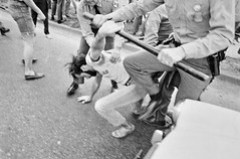 State Police Arrest Student Occupying U.S. Route 1: May 1970