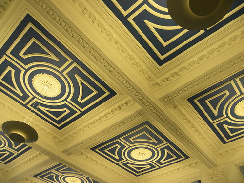 Library ceiling - The Atkinson