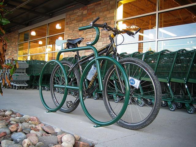 Just My Size Bike Rack