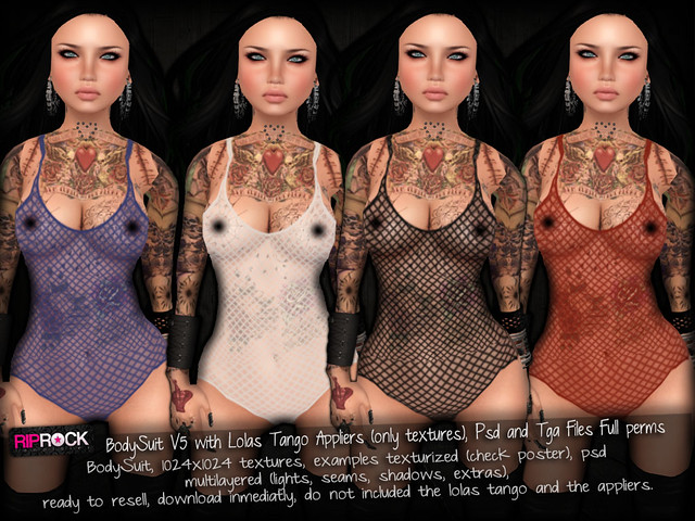 RipRock - BodySuit V5  - Vendor