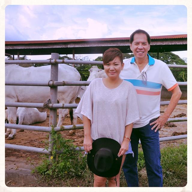 with Chef Sandy Daza
