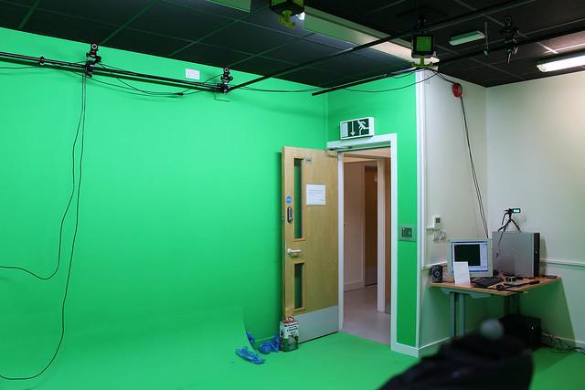 Motion Capture Setup in Green Room