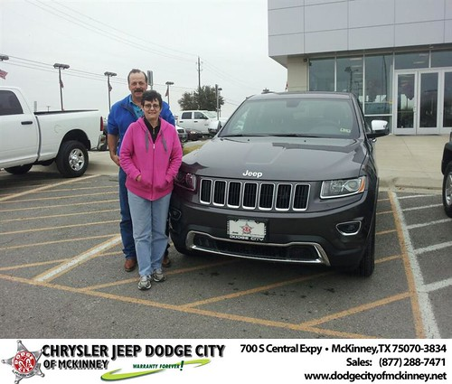 Thank you to Jack Blonquist on your new 2014 #Jeep #Grand Cherokee from Brent Villarreal and everyone at Dodge City of McKinney! #NewCar by Dodge City McKinney Texas
