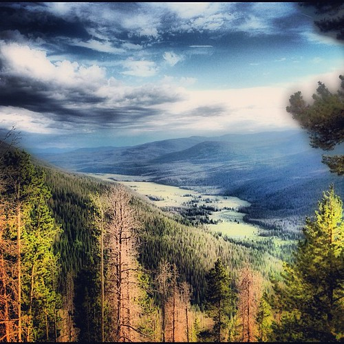 A view of the valley - Rocky Mountain National Park by @MySoDotCom