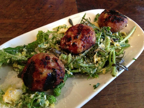 Grilled Pork Meatballs