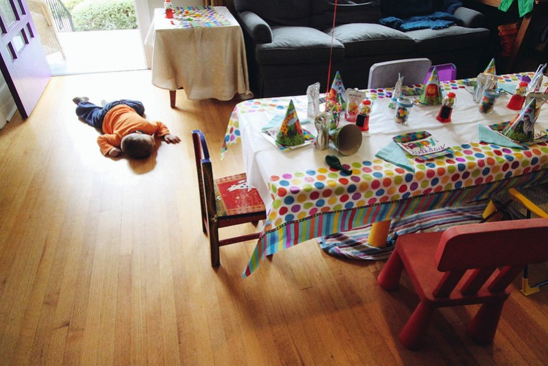 How my kid does birthday parties