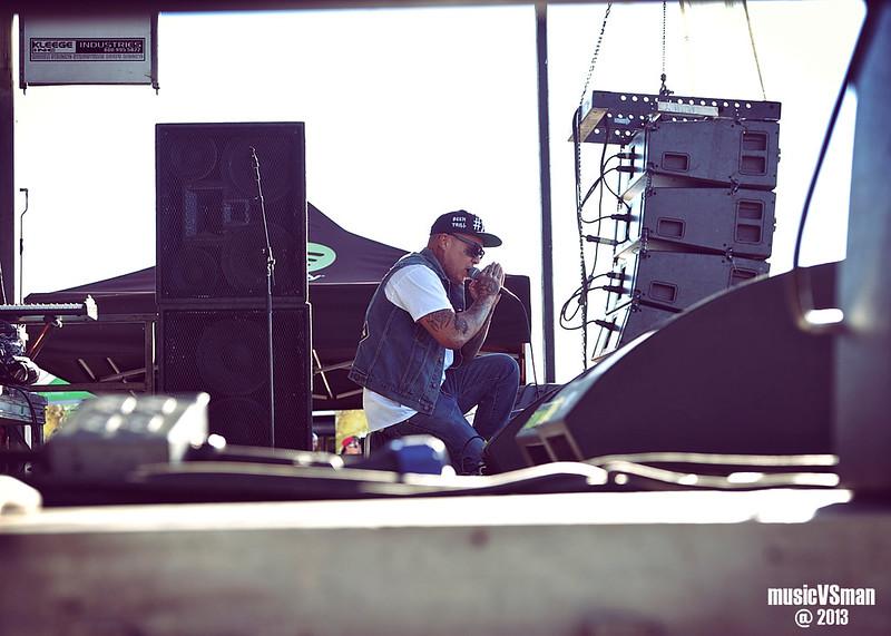 Madchild @ Warped Tour 2013