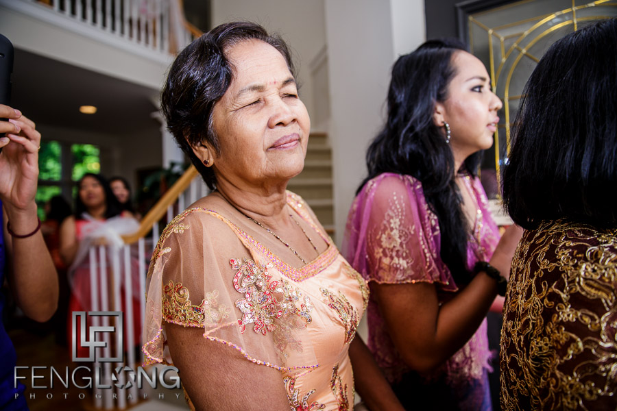 Rosanna Dougs Wedding Day 2 Cambodian Ceremony Canton House