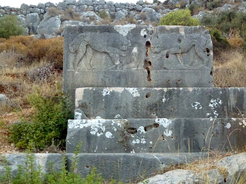Turquie - jour 16 - Cités lyciennes - 135 - Patara et Xanthos