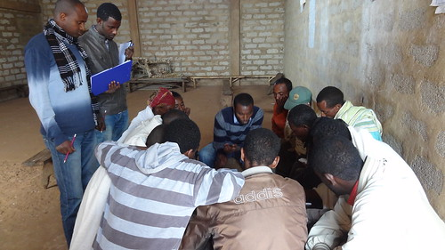 Focus group discussion in Didibe-Kistana