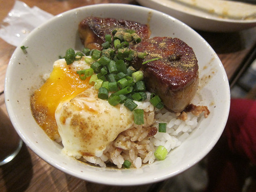 Foie Gras Rice Bowl with Hot Spring Egg