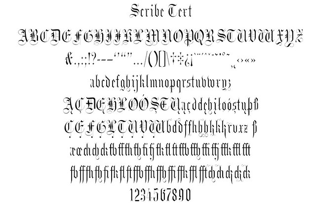 Scribe Text