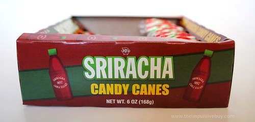J&D's Foods Sriracha Candy Canes Side Box