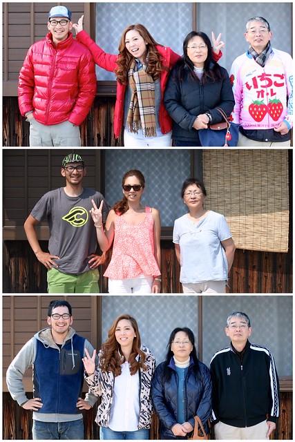 2013年 正月ー夏ー正月の家族写真