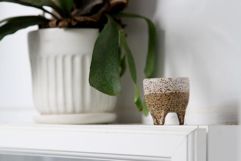 tiny flower pot