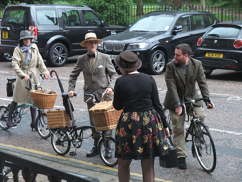Bromptons and baskets