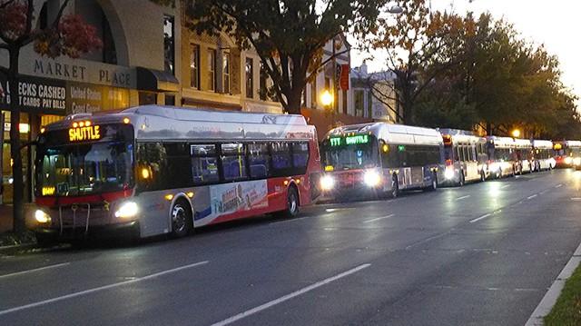 Metro Shuttle Buses