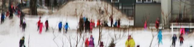 Winter fun by Bob Crutcher