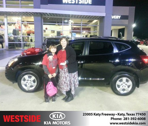Thank you to Robin Hileman on your new 2012 #Nissan #Rogue from Rubel Chowdhury and everyone at Westside Kia! #NewCar by Westside KIA