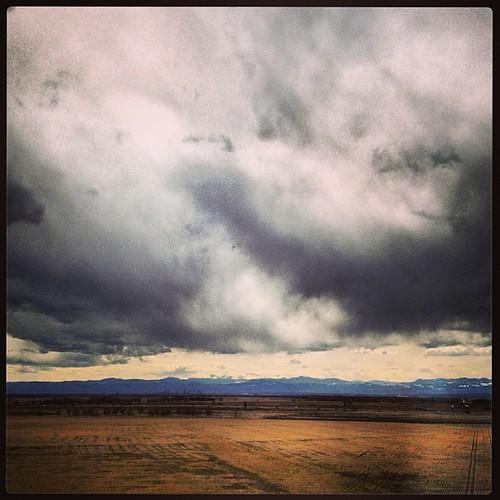 #clouds over #denver by @MySoDotCom