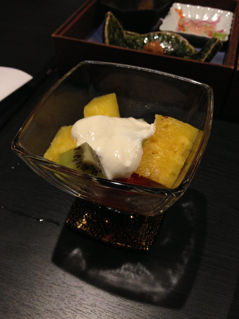 Fruit with Yoghurt