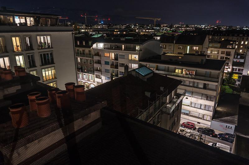Rooftops, Geneva, Switzerland