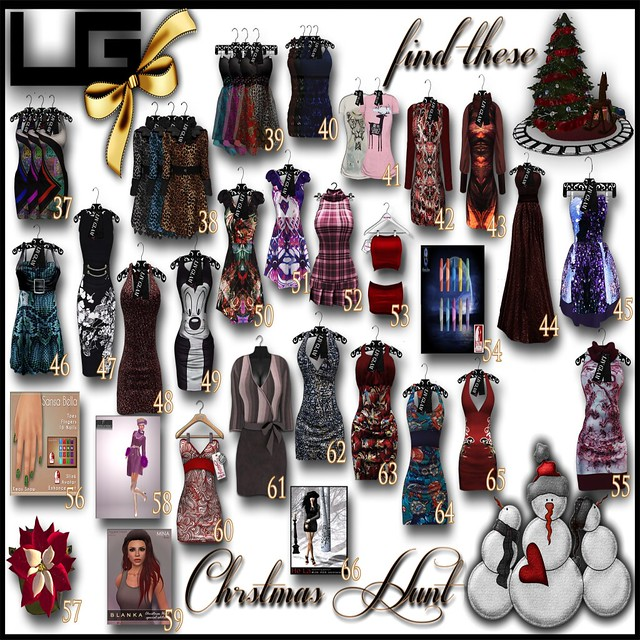 LIVGLAM&Friends-Christmas Hunt Poster3