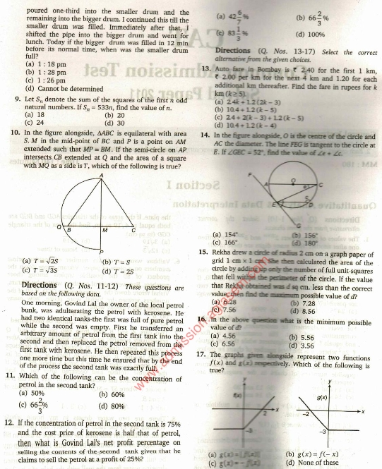Cat 2010 Paper With Solution Pdf