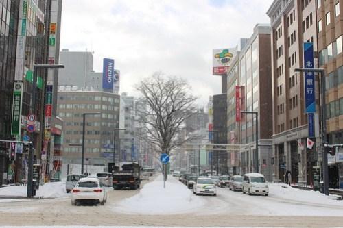札幌駅からの風景
