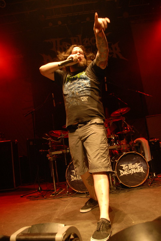Trevor Strnad of The Black Dahlia Murder