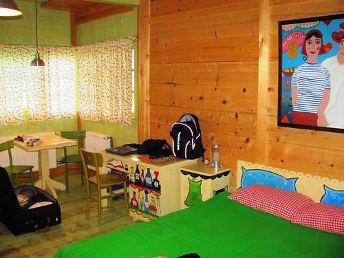 Drvengrad, Serbia-Hotel Mecavnik Our Room