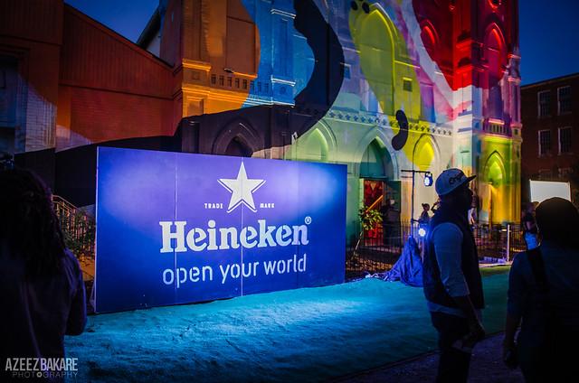 Heineken at Blind Whino