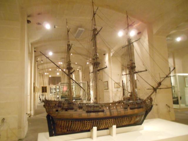 Sala de Maquetas Museum Marítimo Malta
