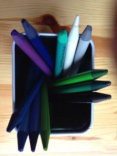 A dozen colours