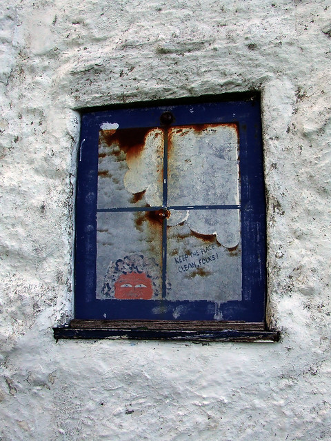 Laggan Cottage shutter