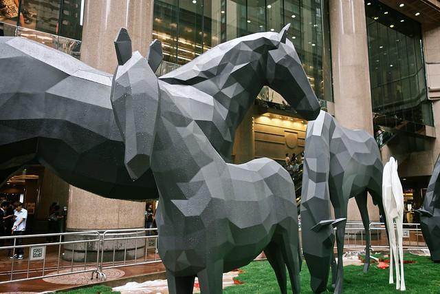 Horses — Times Square
