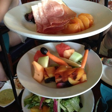 Chilled Antipasti Tower for the Table / August 08, 2013 at 11:11AM