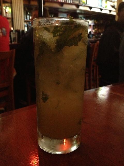 Bourbon Basil cocktail - Belltown Pub