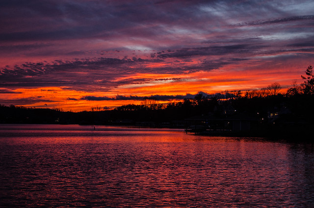Smith Mountain Lake Sunset
